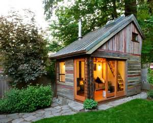 megan lea s backyard house built from recycled barnboards