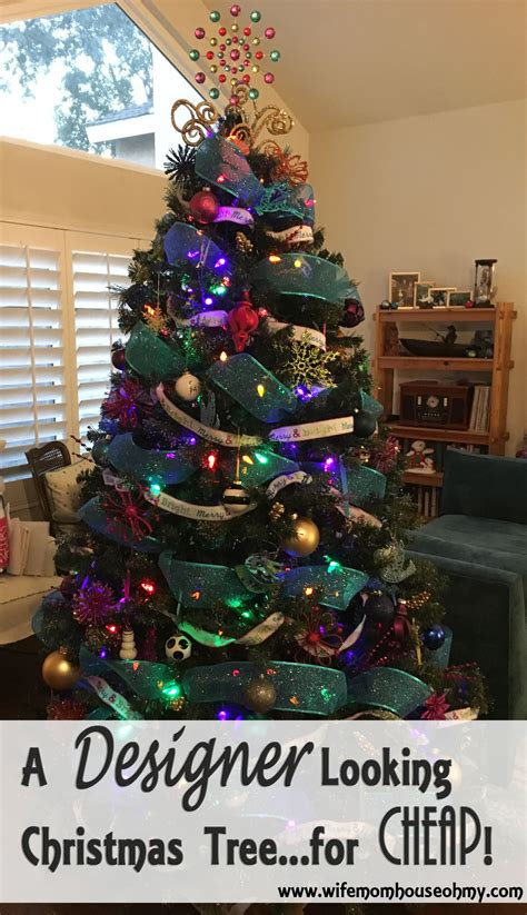 a designer looking christmas tree for cheap