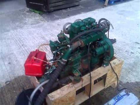 volvo penta mdc hp marine diesel engine youtube