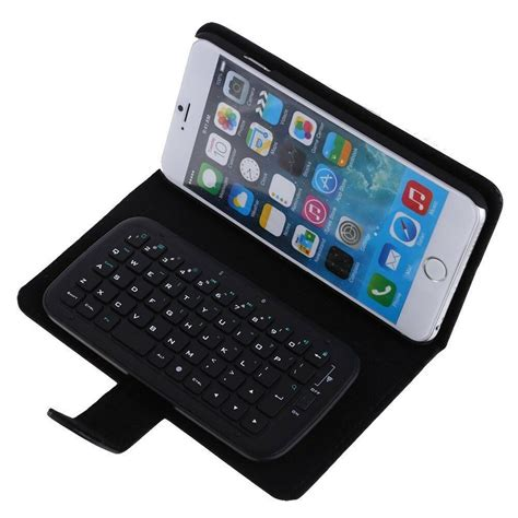 2 in 1 wireless bluetooth v3 0 keyboard flip cover for iphone 6 plus 5 5 ebay