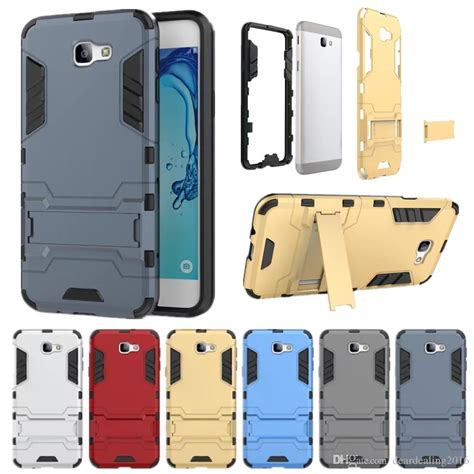 Samsung Galaxy J2 Iron Shockproof Armor Hybrid Casing Bumper Bagus luxury for samsung galaxy j2 j5 j7 prime hybrid heavy