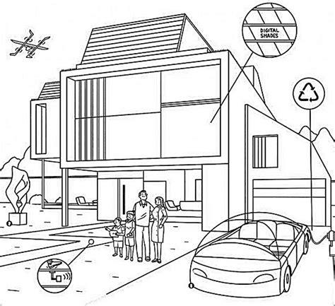 imagenes de casas lindas para dibujar imagenes de casas del futuro para colorear imagenes de