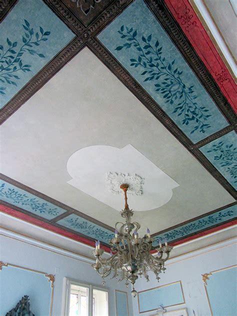 soffitto decorato restauro soffitto decorato privato torino corso francia