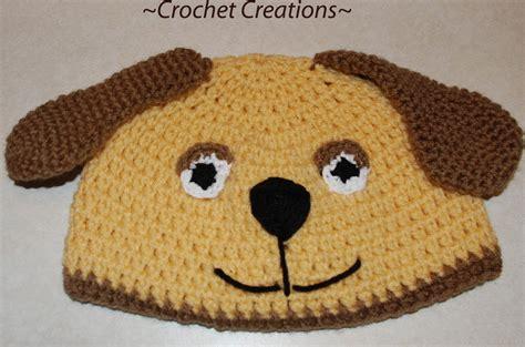 crochet puppy hat crochet puppy hat pattern breeds picture