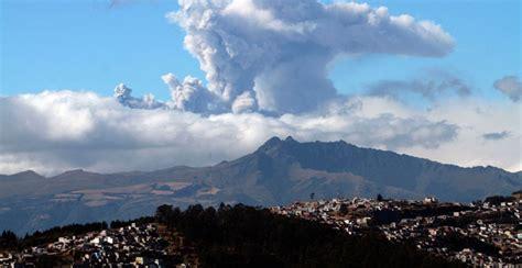 imagenes satelitales volcan cotopaxi cotopaxi simulacros de evacuaci 243 n se reforzaron en varios