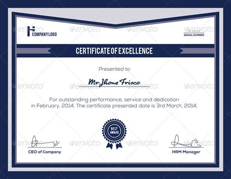 manager of the month certificate template certificate bundle by nasirktk graphicriver