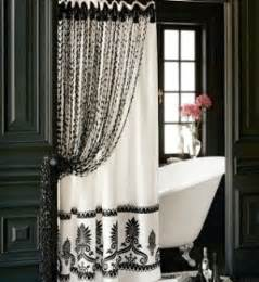 designer shower curtains an upcoming trend in bathroom decor