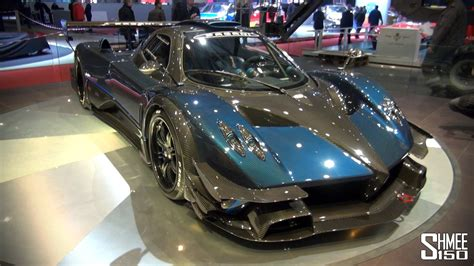 pagani zonda revolucion up close pagani zonda revolucion at geneva 2014 youtube