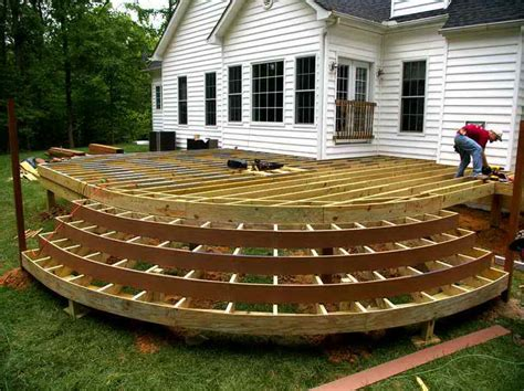 building a backyard deck 5 considerations for building a wood deck