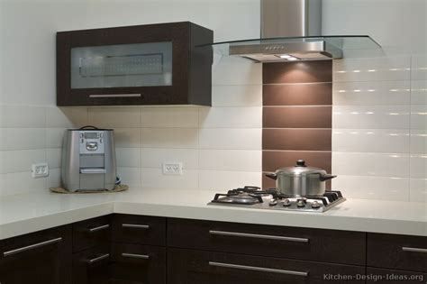 modern backsplash kitchen ideas pictures of kitchens modern dark wood kitchens