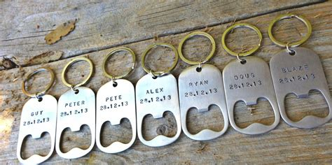 gifts for groomsmen groomsmen gifts for the groomsmen personalized key chains