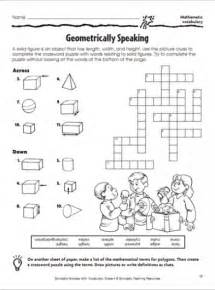 geometrically speaking crossword puzzle parents