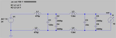 common mode choke low pass filter power how to correctly simulate this filter electrical engineering stack exchange