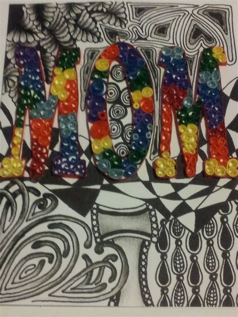 S Day Zentangle 17 Best Images About Quilled S Day Card On