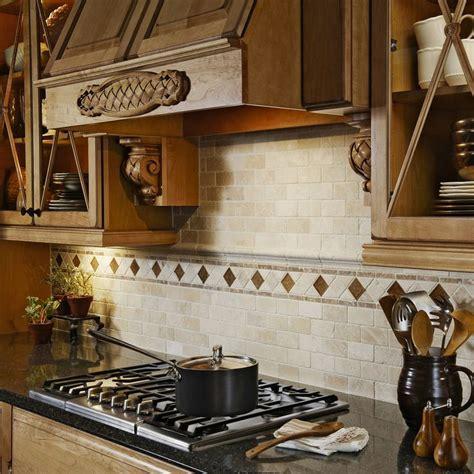 anatolia tile java linear mosaic and glass wall tile shop anatolia tile chiaro tumbled marble
