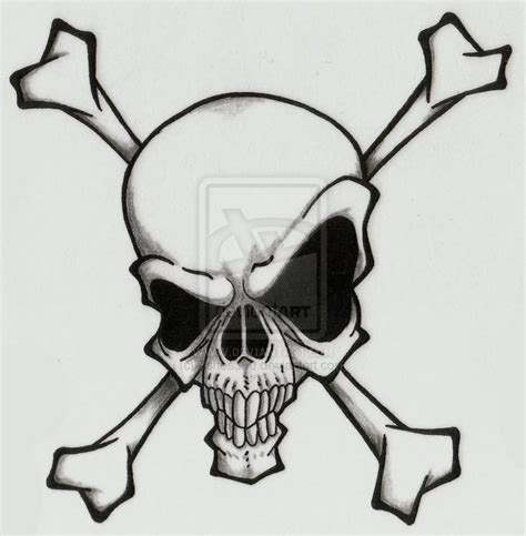 skull and bones tattoo designs skull and crossbones by ashes360 on deviantart