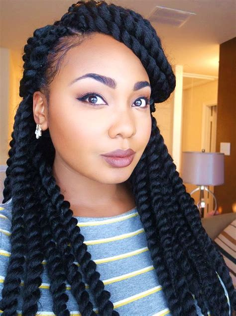 hairstyles for with hair braid best 25 crochet braids ideas on crochet weave