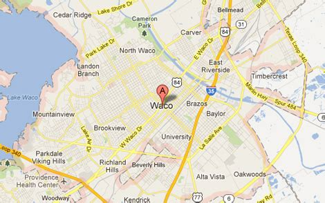 waco maps waco tx the daytripper