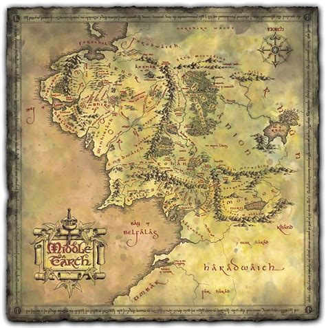 lord of rings map myblog the lord of the rings maps