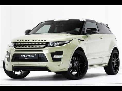modified 2015 range rover startech custom evoque based on land rover range rover