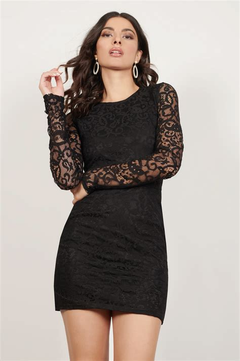 black dress long sleeve dress royal black dress