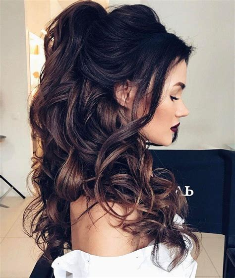 down do s hairstyles 32 pretty half up half down hairstyles partial updo