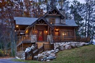 Cabin Home 12 Real Log Cabin Homes Take A Tour