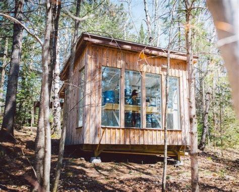 micro cabin beautiful micro cabin used as clay studio