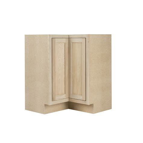 unfinished kitchen base cabinets lowes shop continental cabinets inc 36 in w x 34 5 in h x 36