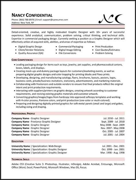 different types of resumes exles best resume exle