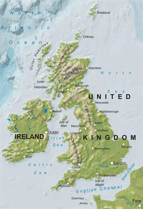 united kingdom map with mountains imagen cortes 237 a de http www freeworldmaps net