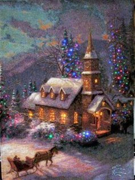 17 inch lighted church scene with colorful rice lights 1000 images about scenery on lights and