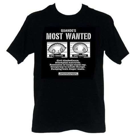 Tshirt The Flash Most Wanted Item family stewie most wanted black t shirt family