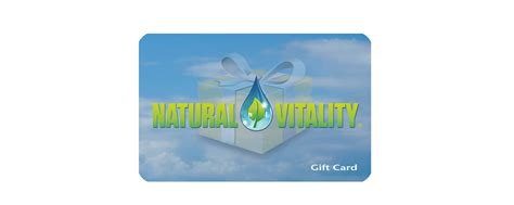 Gift Card Info - 100 gift card from natural vitality giveaway healthy mama info