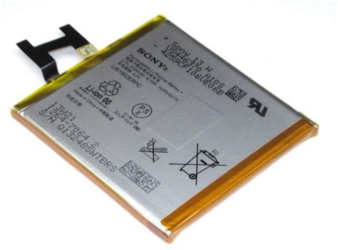 original battery sony xperia z imediastores