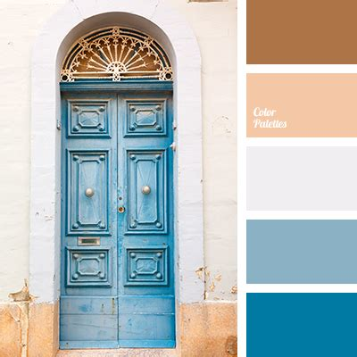 colors that match with brown blue and brown color palette ideas