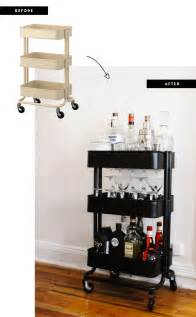 Small Home Bar Cart Make Your Own Bar Cart With This Easy Diy Small