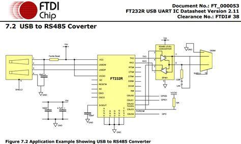 rs485 to usb converter circuit diagram circuit and