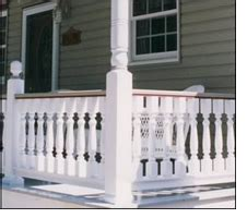 Home Interior Railings porch balusters spindles megastore wooden amp synthetic