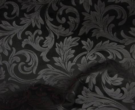 black floral upholstery fabric black floral embossed micro velvet upholstery drapery