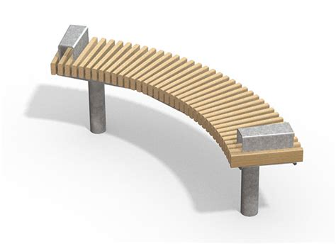 curved seating bench new curved seating from furnitubes