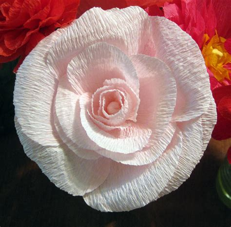 Flower Using Crepe Paper - vikalpah let s talk about paper types of paper its