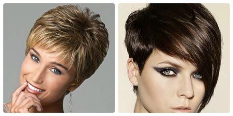 colores de pelo cortes de cabello tendencias de corte de pelo 2018 para mujeres elegantes