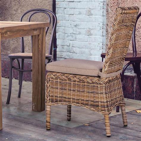 cuscini per sedie eleganti mobili da giardino in rattan sintetico antigua sedia in