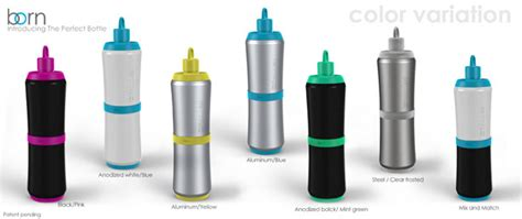 born perfect bottle the perfect bottle modular stainless steel bottle by
