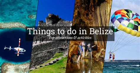 belize the official travel guide books things to do in belize top attractions activities 2017