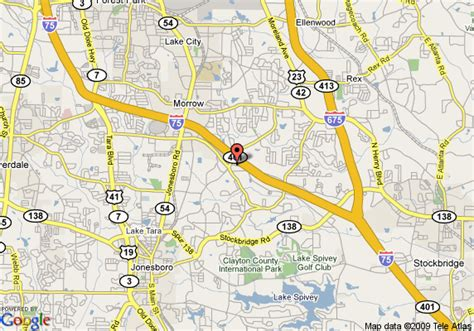 map of country inn and suites morrow morrow