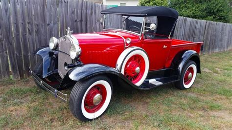Vintage 1930 Model A Ford of history 1930 ford model a vintage for sale