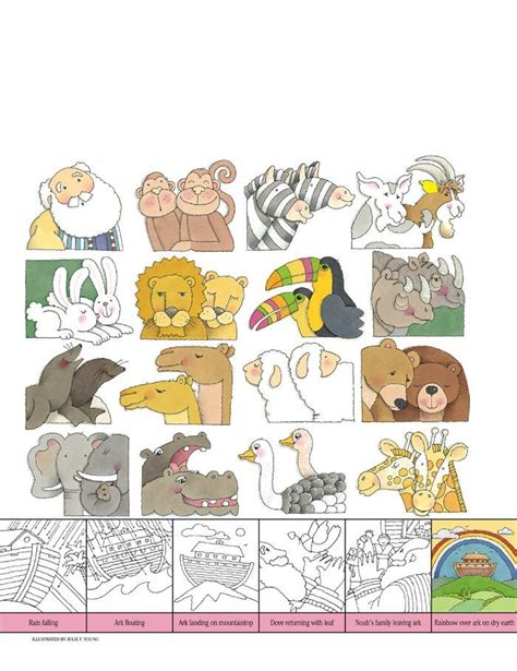animal printouts  noahs ark noahs ark dibujos