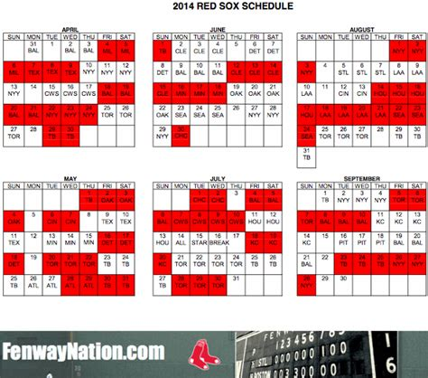 red sox printable schedule fenwaynation fenway seating chart papi pedroia betts